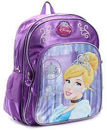 Disney Princess Cinderella Purple Backpack - 16 Inches - 30 x 12.5 x 40 cm
