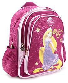 Disney Princess Backpack Rapunzel Pink - 16 Inches - 30 X 12.5 X 40 Cm