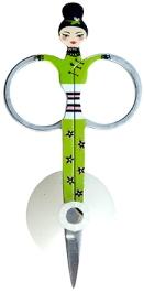 Pylones Sissikut Nail Scissors Green - 5 x 10 cm