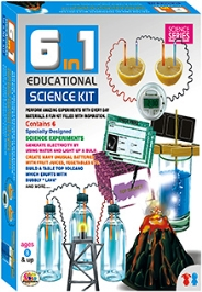 Ekta 6 in 1 Educational Science Kit - 6 Experiments