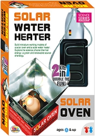 Ekta Solar Water Heater Solar Oven Kit - 8 Years Plus