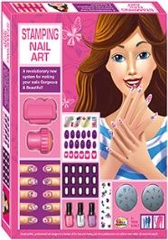 Ekta Stamping Nail Art Kit - 8 Years Plus