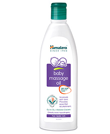 Himalaya Herbal Baby Massage Oil Bottle - 50 Ml - Light