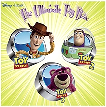 Disney Pixar The Ultimate Toy Box DVD - English