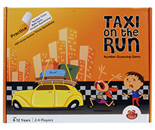 Chalk and Chuckles Taxi On the Run Guessing Game