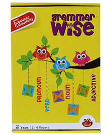 Chalk and Chuckles Grammar Wise Game