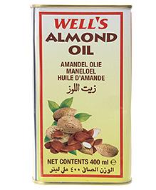Wells Almond Oil Tin - 400 ml
