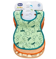 Chicco Weaning Bibs - Set of 3