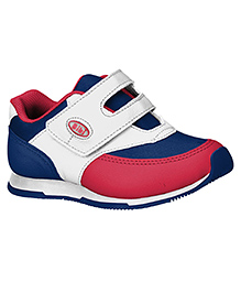 Elefantastik Sneakers With Strap Closure Cherry White And Blue