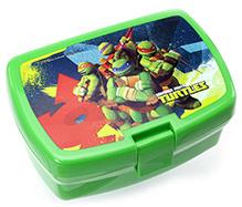 Ninja Turtles Square Lunch Box - Green N Blue