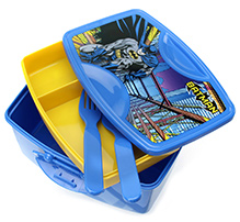 Batman Flap Lunch Box - Blue