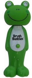Brush Buddies Poppin Leapin Louie Soft Kids Toothbrush