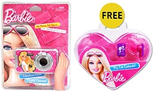 Barbie Digital Camera 3 Years+, 1.3MP Digital Camera, Capture all of your Favorite moments with...