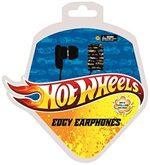Hotwheels Edgy Earphones 7 Years+,Compatible with any media devices & all gaming devices with a...