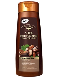 Tree Hut Shea Moisturizing Shower Wash Brazilian Nut - 473 ml