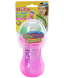 Nuby No Spill Ultra Sipper Cup Pink - 420 ml