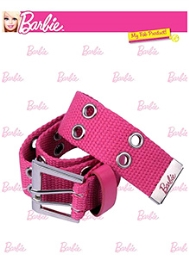 Barbie Dual Hole Canvas Belt