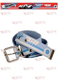 Hotwheels Car Print Belt - Light Blue