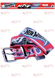 Hotwheels Car Print Belt - Red