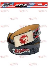 Hot Wheels PU Leather Belt - Grey