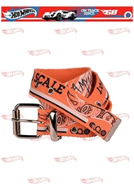 Hot Wheels Car Print Belt - Orange