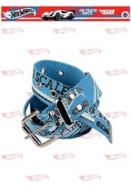 Hot Wheels Car Print Belt - Aqua Blue