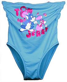Tom And Jerry Blue Strapless Swimsuit