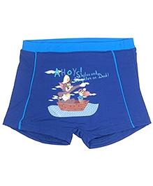 Tom And Jerry Swim Trunk - Dark Blue