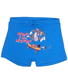 Tom And Jerry Swim Trunk - Blue