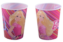 Barbie Small 3D Cup - 400 ML