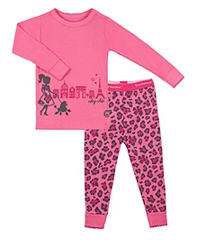 Kushies Baby Full Sleeves T Shirt and Legging Set - City Chic