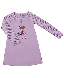 Kushies Baby Raglan Sleeves Night Gown