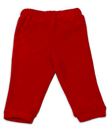 Fundoo Bandoo Fleece Legging - Red
