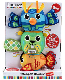Lamaze Totem Pole Stacker - 3 Pieces