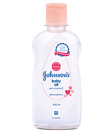 Johnson And Johnson Baby Oil With Vitamin E - 100 Ml - Pure