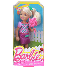 Barbie Chelesa Cute Little Girl Doll - 14 Cm - 3 Years+