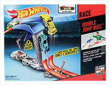 Hotwheels Double jump Duel Track
