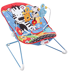 Fisher Price Adorable Multi Colour Baby Bouncer - Animals