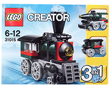 Lego 3 In 1 Emerald Express Creator