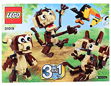 Lego 3 In 1 Forest Animals