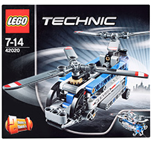 Lego Technic Twin Rotor Helicopter