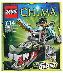Lego Crocodile Legend Beast