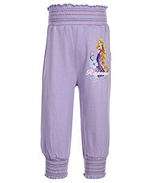 Disney Rapunzel Printed Full Length Leggings - Light Purple