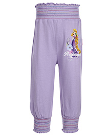 Disney Rapunzel Printed Full Length Leggings - Light Purple