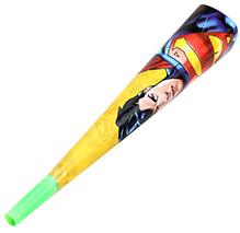 Superman Flute Paper Horn - 6 Pieces