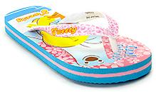 Tweety Sky Blue N Pink Tweety Print Flip Flop