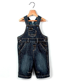 Beebay Tab Pocket Full Dungaree Blue