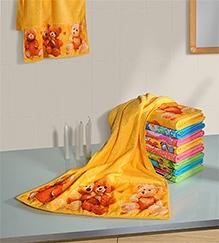 Swayam Digitally Printed Teddy Bear Reversible Kids Towel
