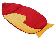Sapphire Red Fish Shape Sleeping Bag