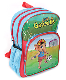 PEP INDIA School Bag Little Ganesha Sky Blue 13 Inches